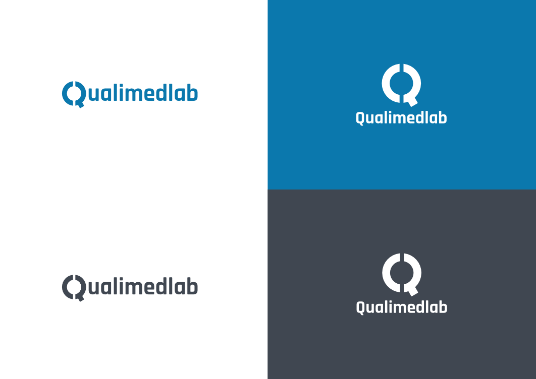 QualiMedLab - Logo variations